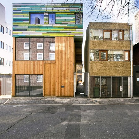 High Density WoodBlock House, London